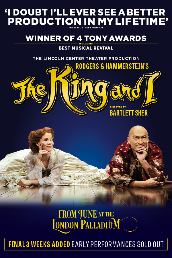 London Theatre Tickets - The King and I