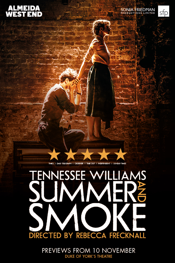 London Theatre Tickets - Summer and Smoke
