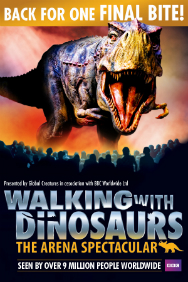 London Theatre Tickets - Walking with Dinosaurs: The O2 Arena