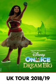 London Theatre Tickets - Disney On Ice: Dream Big - O2
