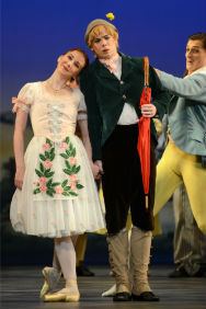 London Theatre Tickets - La Fille Mal Gardee - Birmingham Royal Ballet