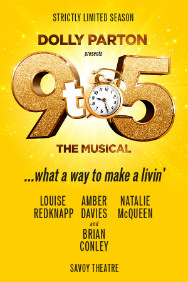 London Theatre Tickets - 9 to 5 the Musical