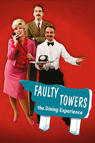 London Theatre Tickets - Faulty Towers The Dining Experience