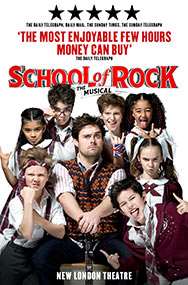 London Theatre Tickets - School of Rock