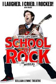 London Theatre Tickets - School of Rock