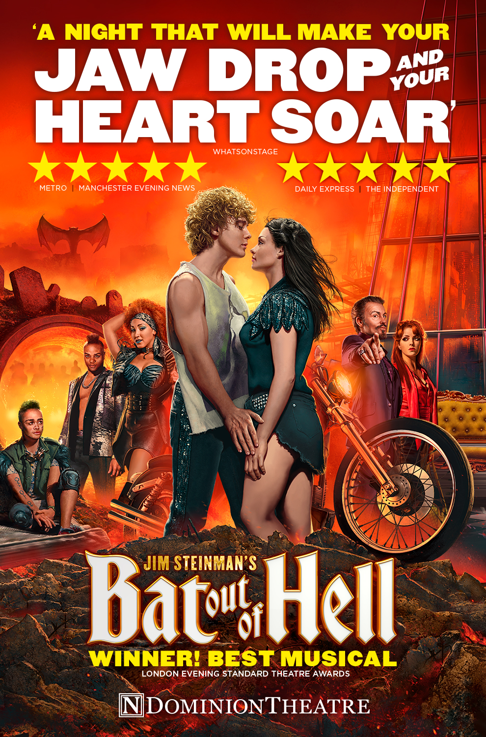 London Theatre Tickets - Bat Out of Hell The Musical