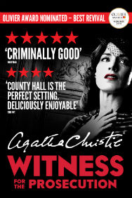 London Theatre Tickets - Witness for the Prosecution by Agatha Christie