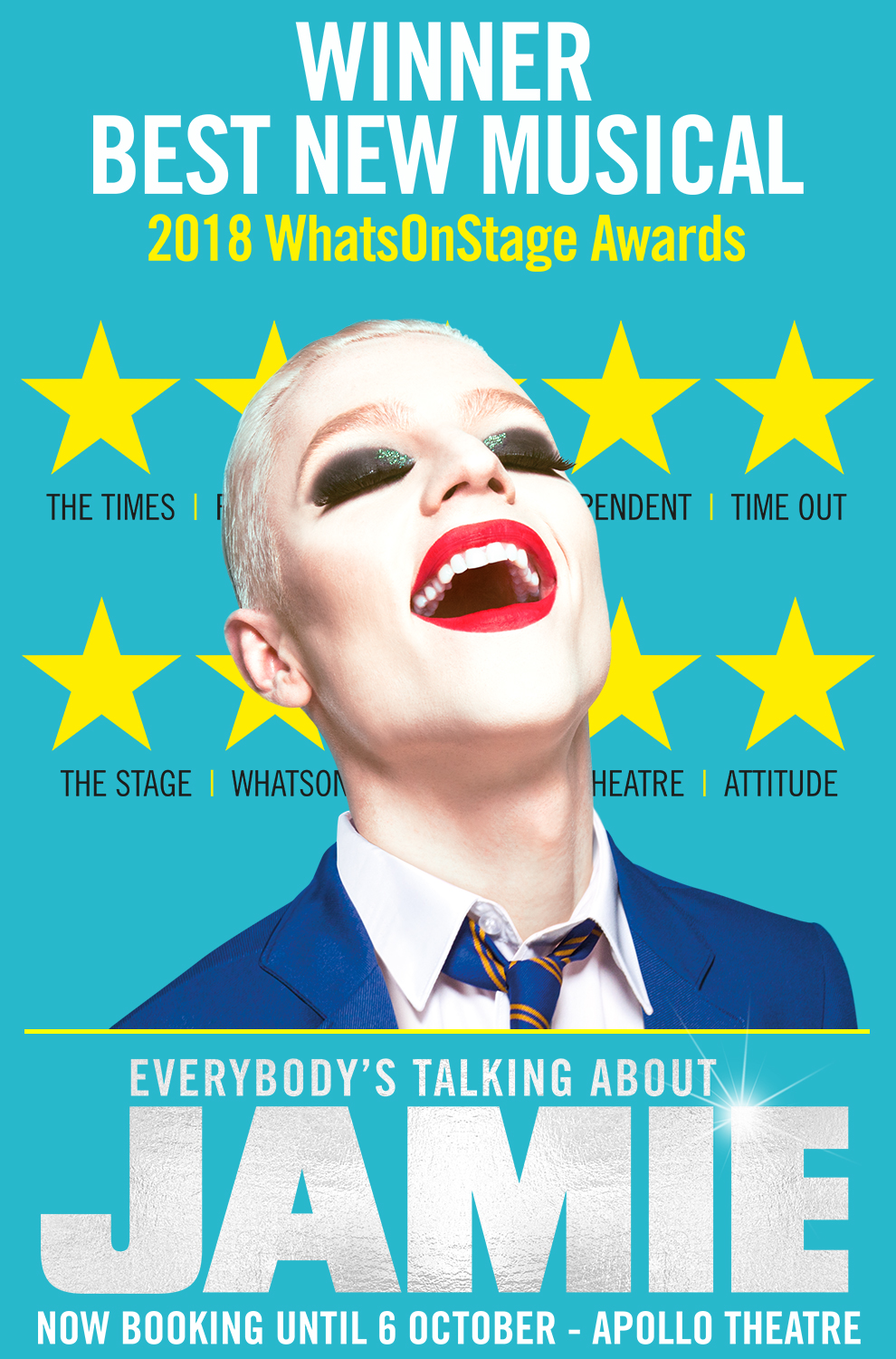 London Theatre Tickets - Everybody's Talking About Jamie