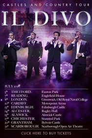 London Theatre Tickets - Il Divo: London
