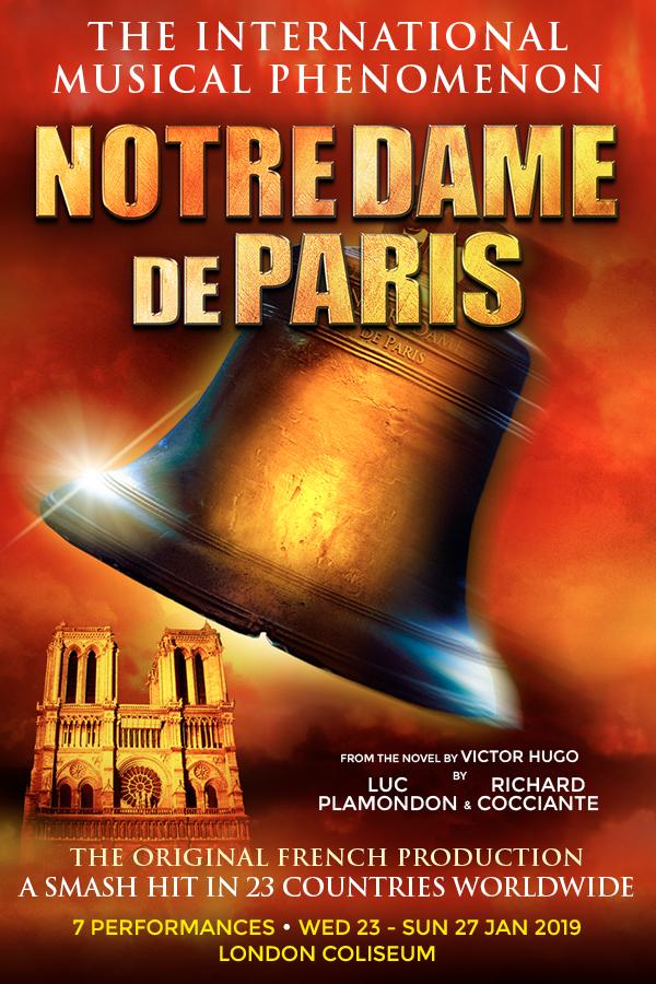 London Theatre Tickets - Notre Dame de Paris