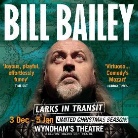 London Theatre Tickets - Bill Bailey - Larks in Transit
