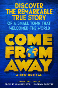 London Theatre Tickets - Come From Away