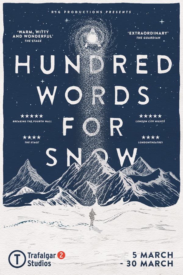 London Theatre Tickets - A Hundred Words for Snow