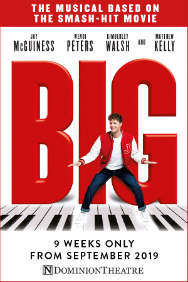 London Theatre Tickets - Big The Musical