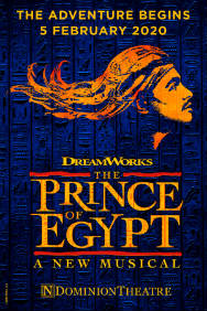 London Theatre Tickets - The Prince of Egypt