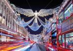 Christmas Lights Open Top Bus Tour on Christmas Eve
