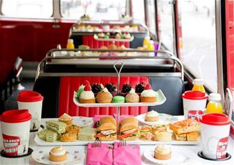 Afternoon Tea Bus Tour - London