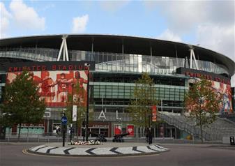 Arsenal FC Match at Emirates Stadium - Club Level