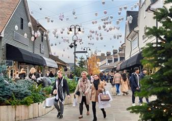 Bicester Village Shopping By Rail