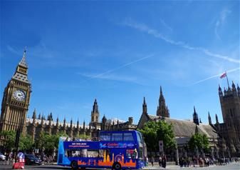 Hop-on Hop-off Bus Tour 72 Hour Ticket (+ Extra 24hrs Free)