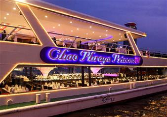 Chao Phraya Princess Night Cruise in Bangkok including Buffet Dinner