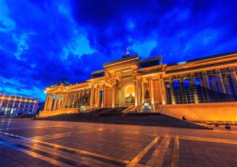 City tour of Ulaanbaatar by Night including Dinner