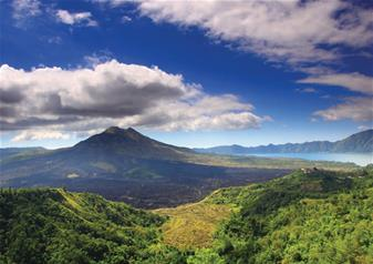 Full Day Cycling Tour of Batur Volcano in Bali with Buffet Lunch