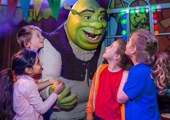 DreamWorks Tours Shrek's Adventure London Ticket (Same day)