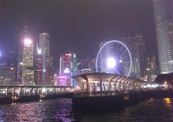 Evening tour of Lamma Island and Symphony of Lights in Hong Kong with Round Trip Ferry Transfer