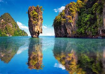 Full Day James Bond Island Tour by Long Tail Boat from Krabi (Thailand) with Sea Canoe