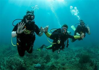 Full day Scuba Diving Activity near Koh Tao in Thailand with Round Trip Hotel Transfers