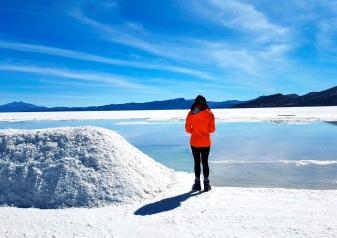 Full day tour of Uyuni Salt Flats