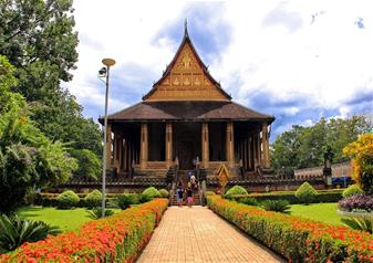 Half Day Bicycle Tour of Vientiane in Laos with Hotel transfers – Private Tour