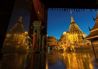Half Day Guided City Tour of Chiang Mai and Lanna Temples with Hotel Transfers