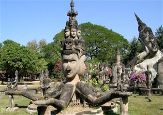 Half Day Tour of Buddha Park with Hotel transfers – Private Tour