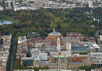 Helicopter Flight Over London (10 Minutes)