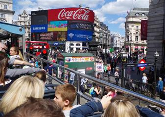 Hop-on Hop-off London Bus Tour 24 hr Ticket + FREE extra 24hrs