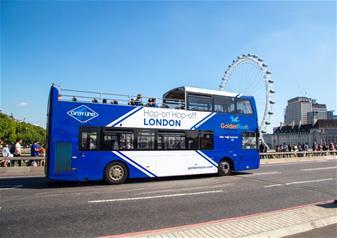 London Transport Museum and Hop-on Hop-off London Bus Tour