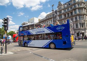 1 Day Hop-on Hop-off Bus Ticket + Madame Tussauds