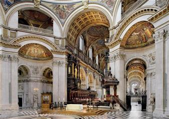 Hop-on Hop-off London Bus Tour  24hr Ticket & St Paul's Cathedral + FREE Extra 24 Hrs