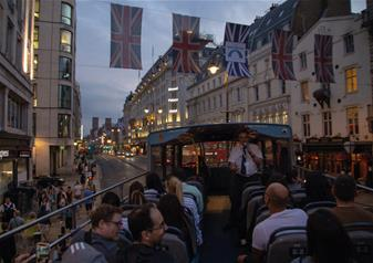 London by Night Open Top Bus Tour