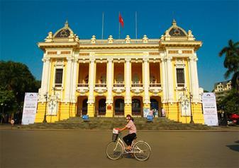 My Village Dance Show in Hanoi Opera House