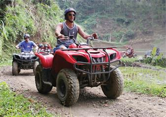 Full Day Quad Bike Tour in Bali with Round Trip Hotel Transfers