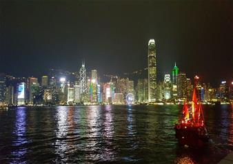 Remarkable Evening at Symphony of Lights Harbour Cruise in Hong Kong
