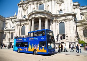 Hop-on Hop-off London Bus Tour - 24hr Ticket & Shrek's Adventure + FREE Extra 24hrs