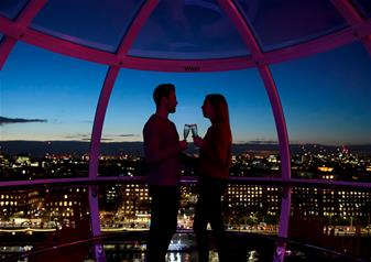 The Coca-Cola London Eye Ticket Champagne Experience (Same day)