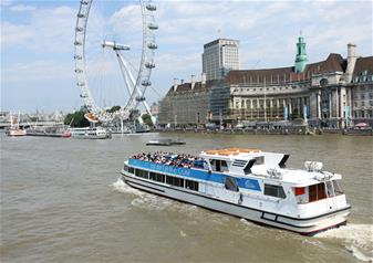 The lastminute.com London Eye River Cruise Ticket (Same day)