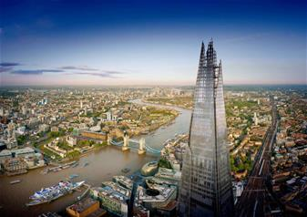 Hop-on Hop-off London Bus Tour  24 hr Ticket & The View from the Shard + FREE extra 24 hrs