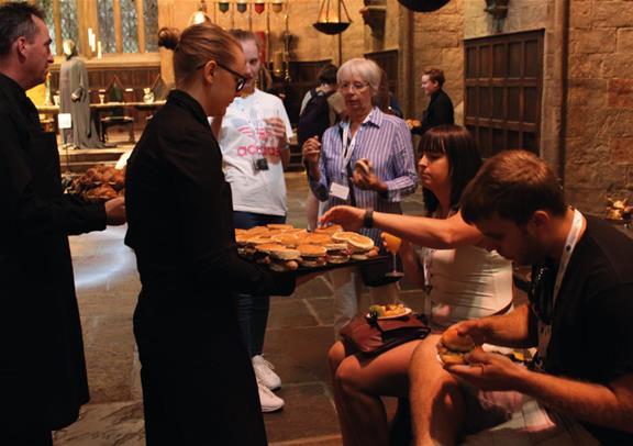 Exclusive Breakfast Reception At Hogwarts Warner Bros