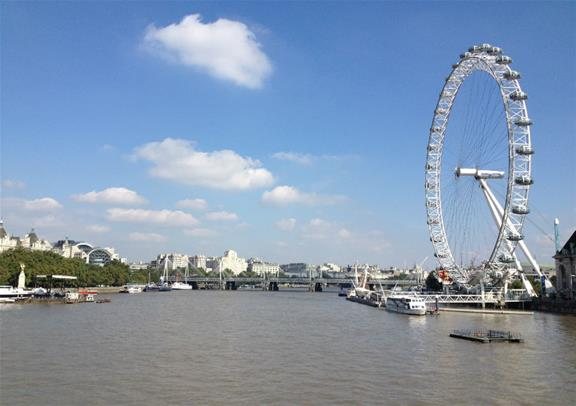 London Eye Private Capsule For Group Upto 25 People Golden Tours